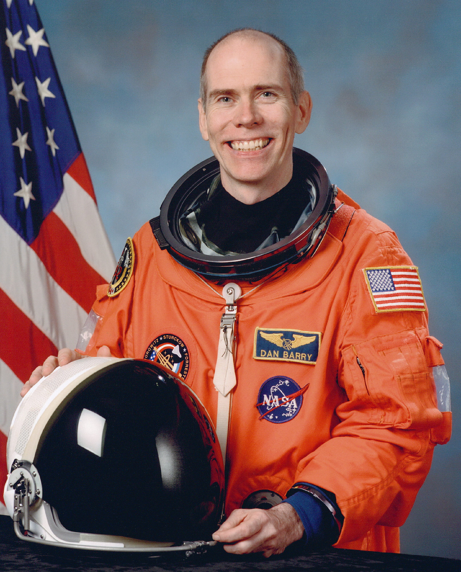 astronaut biography  daniel barry
