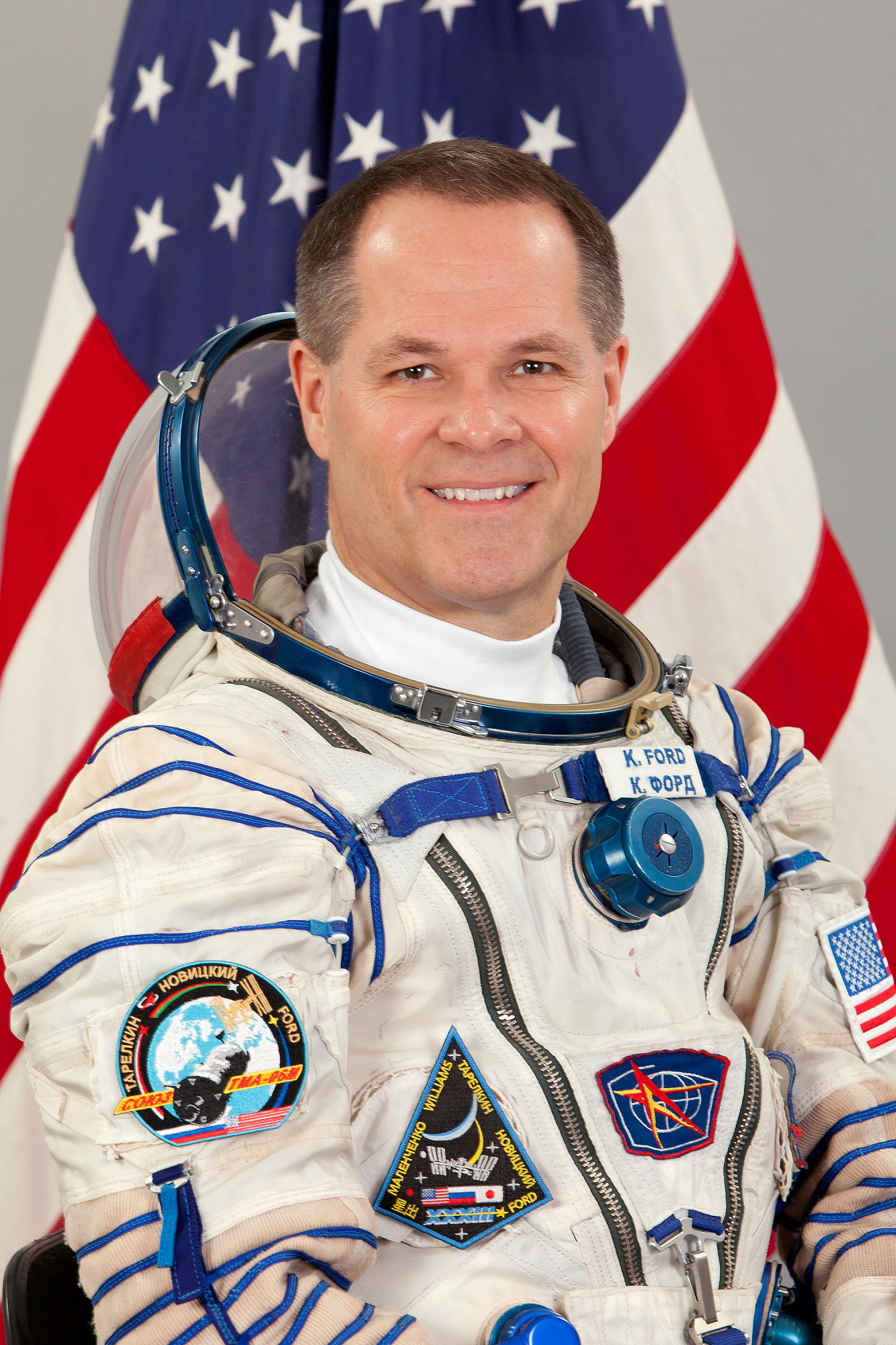 astronaut biography  kevin ford