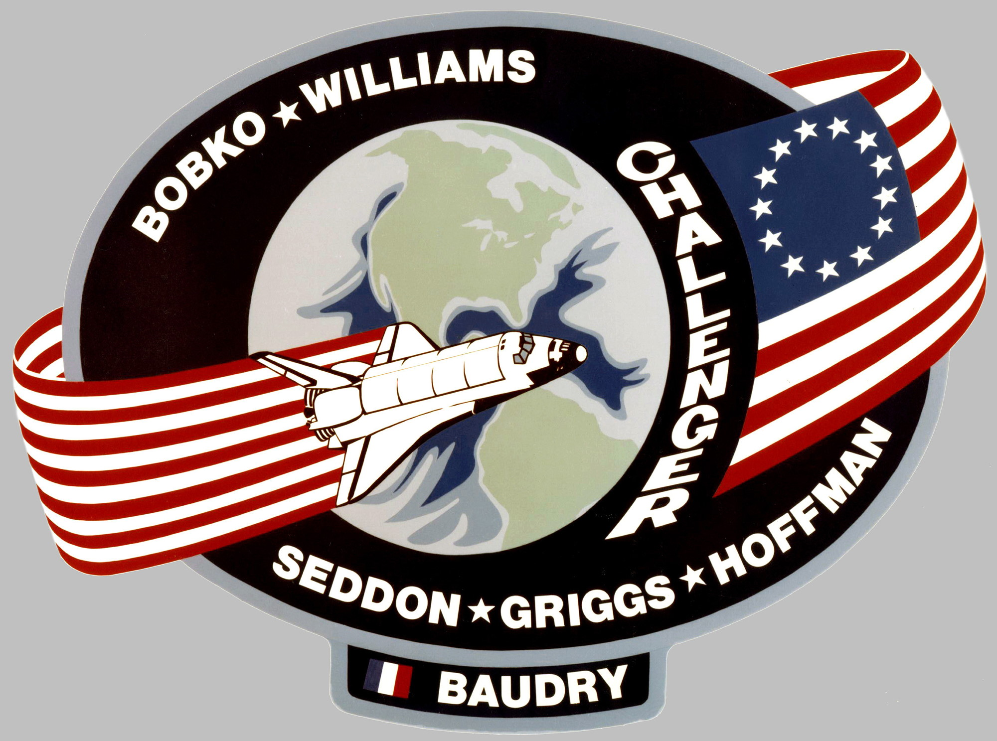 STS-51E / Challenger canceled mission patch - collectSPACE ...