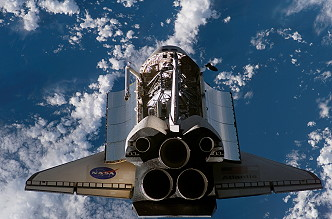 Arrival of STS-117