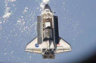 Ankunft STS-133