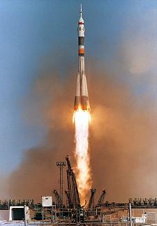 Image result for soyuz tm-14 launch