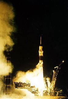 Image result for soyuz tm-25 launch