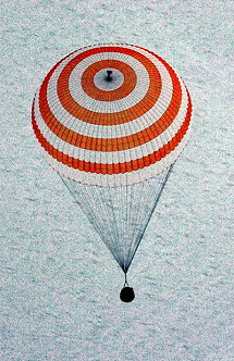 Image result for soyuz tm-28 landing