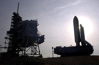 STS-111 rollout