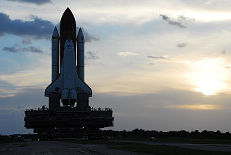 STS-120 rollout