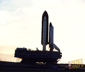 STS-30 rollout