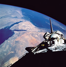 STS-46 in orbit