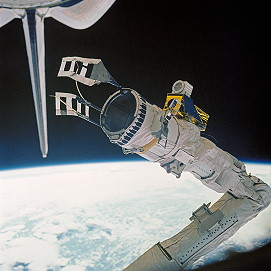 STS-51D Canadarm
