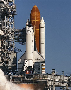 STS-55 launch attempt