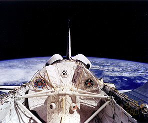 STS-55 in orbit