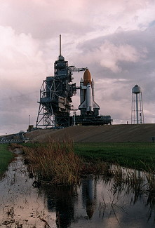 STS-74 rollout