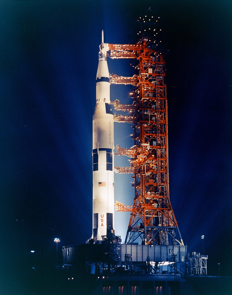 Apollo 14 on launch pad
