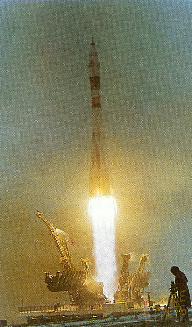 Image result for soyuz 32 launch