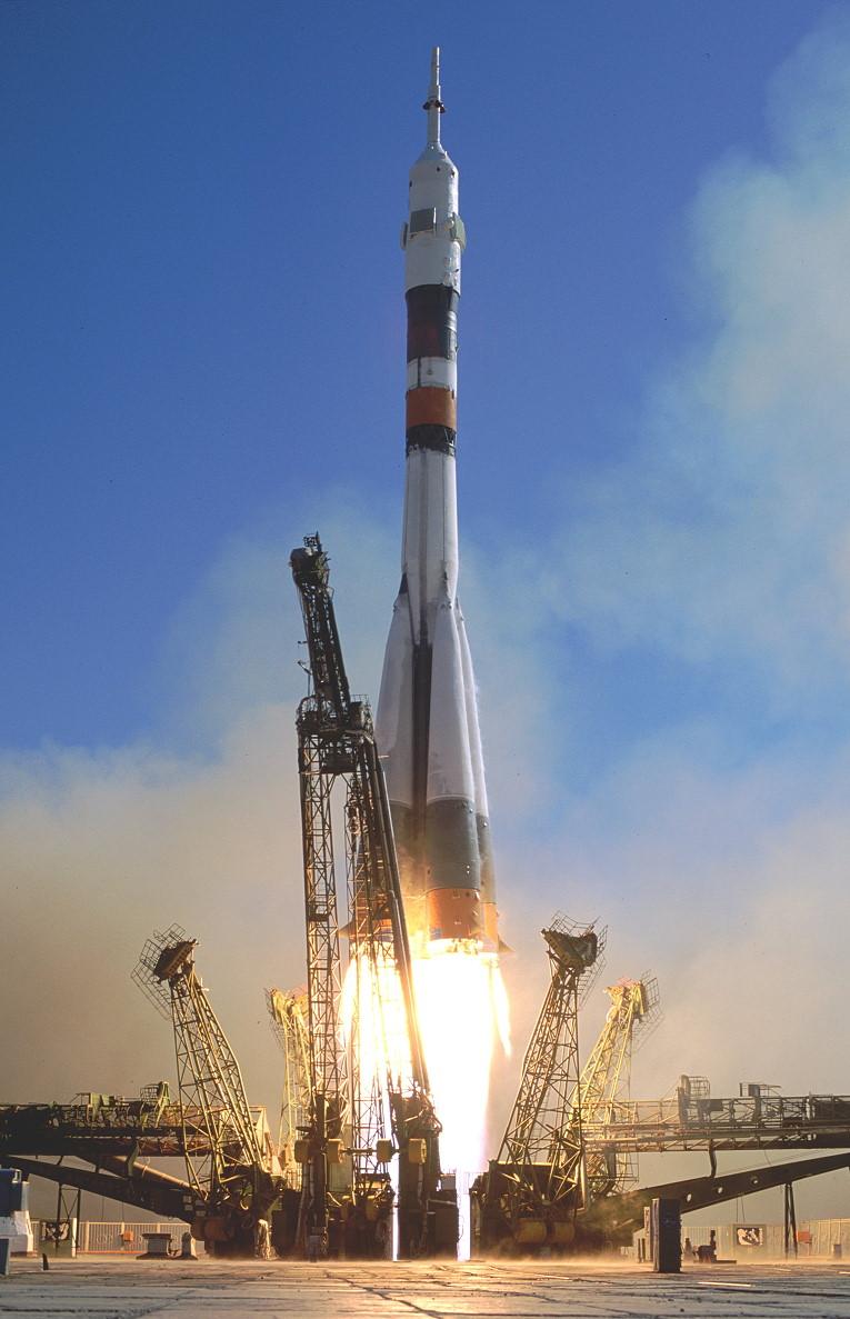 Image result for soyuz tm-21 launch