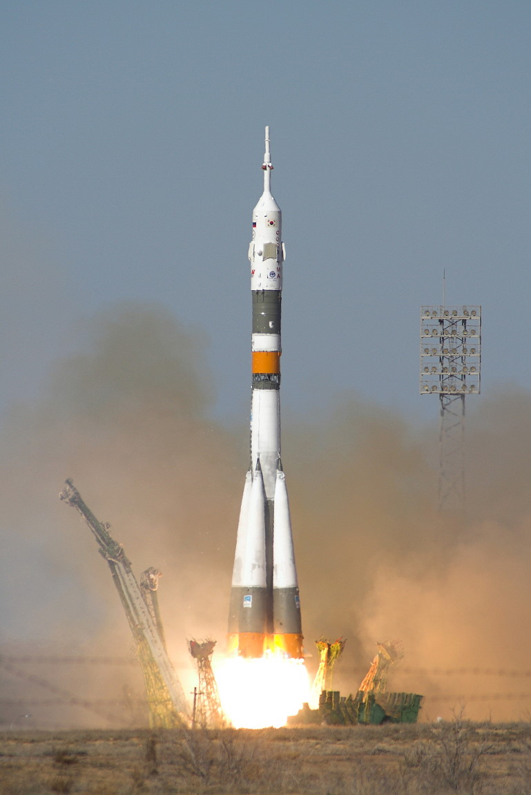 Image result for soyuz tma-12 launch