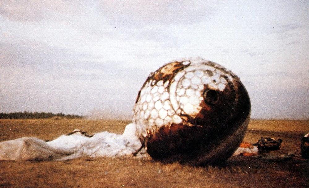 Así inauguró Gagarin la conquista del espacio Vostok-1_landing