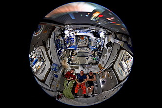 life onboard ISS
