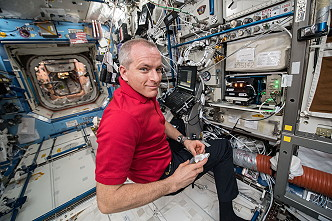 David Saint-Jacques onboard ISS