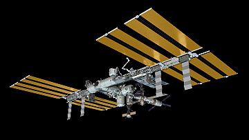 ISS as of April 22, 2011