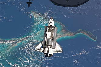 STS-135 arrival