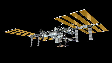 ISS as of April 22, 2012