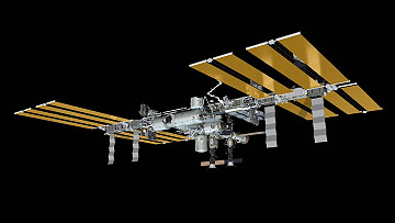 ISS as of April 15, 2013