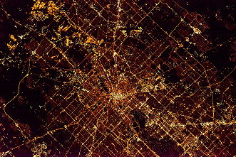 Houston bei Nacht