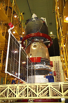 Soyuz MS-02 integration
