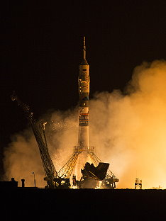 Soyuz TMA-14M launch