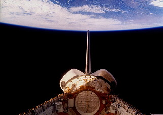 STS-26 im Orbit