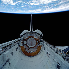 STS-29 im Orbit