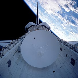STS-30 im Orbit