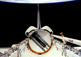 STS-32 in orbit