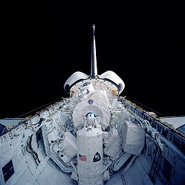 STS-35 in orbit