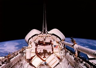 STS-41C im Orbit