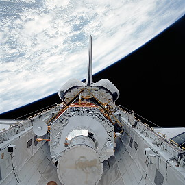 STS-44 in orbit