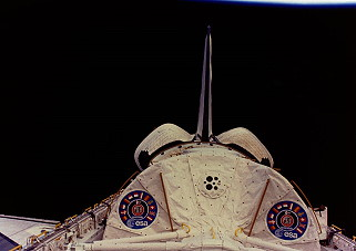 STS-51B im Orbit