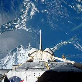 STS-57 im Orbit