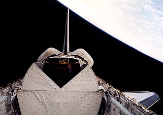 STS-5 im Orbit