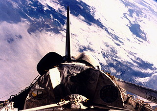 STS-61A in orbit