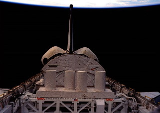 STS-61C in orbit