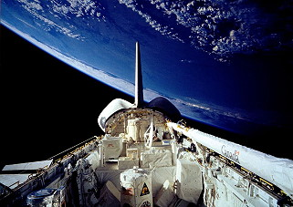 STS-66 im Orbit