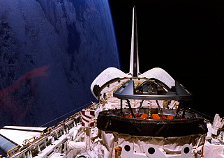 STS-74 im Orbit