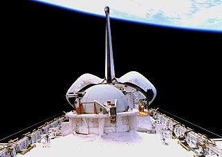 STS-75 in orbit