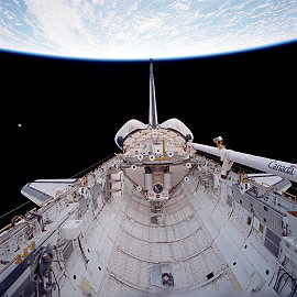 STS-80 im Orbit