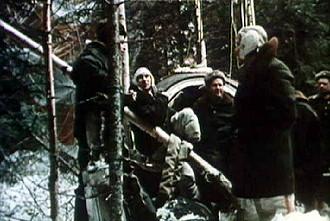 Image result for voskhod 2 landing