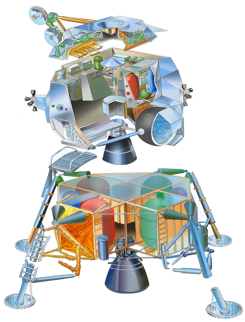 apollo spacecraft cutaway - photo #24