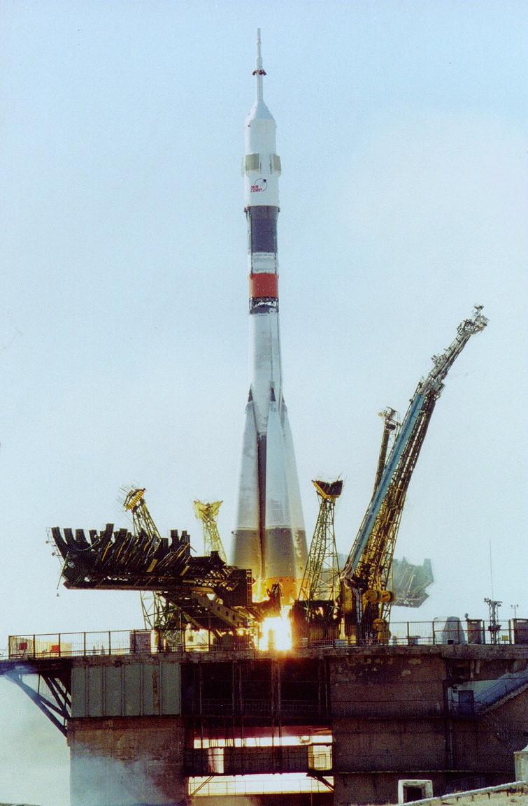 Image result for soyuz tm-30 launch
