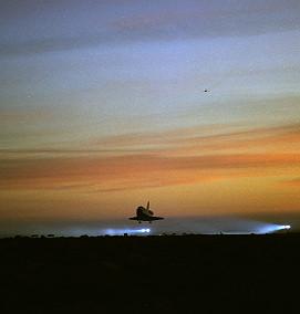 Image result for sts-76 landing